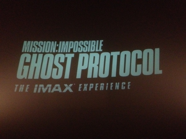 Let's get ready to rumble! IMAX style!!!