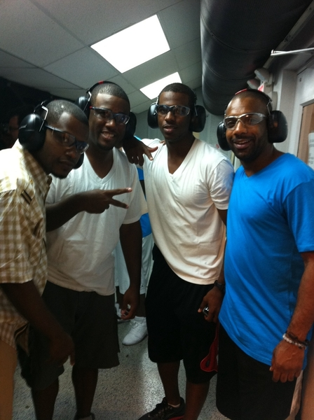 @cjpaul14 @CP3 @CoachJon8 we at the gun range Boss!