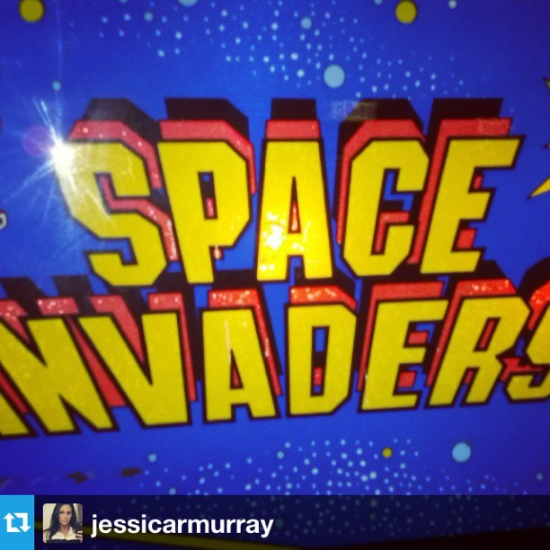 #Repost from @jessicarmurray #SPACEINVADERS FTW