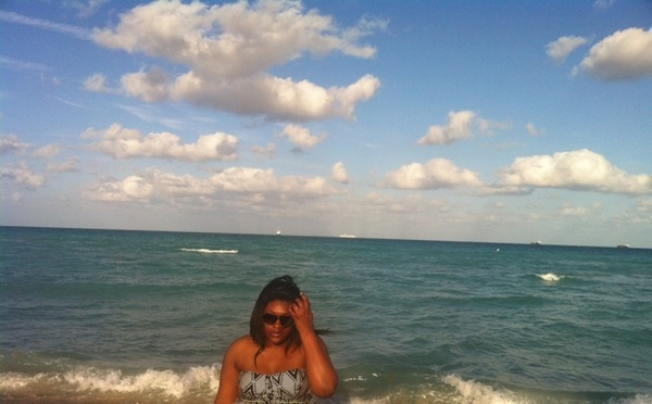#southBeach Miami ... My sister loved this place ... Had fun, sis i left u somn in the ocean! r.i.p