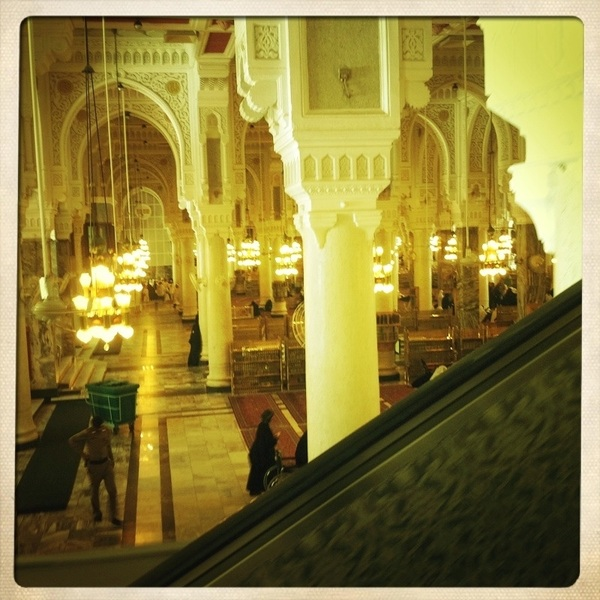 The interior of masjidil haram pt 3