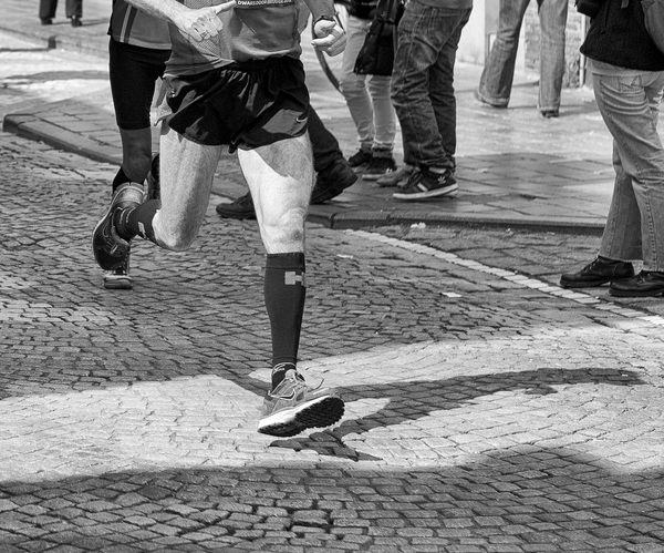 The runner #roadrace #bruges