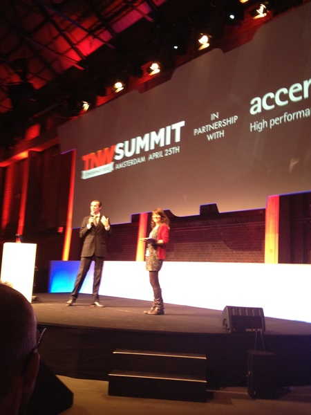@boris and @jemimah_knight at the start of the CxO Summit! #tnw #tnw2012