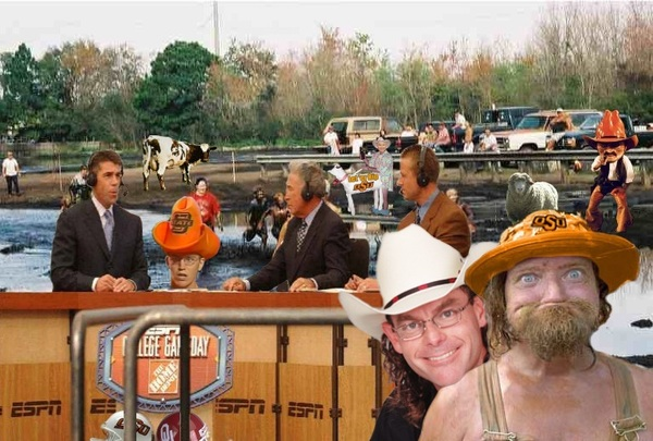 This is why #ESPN did not want to be in Stoolwater, OK this weekend for Bedlam.