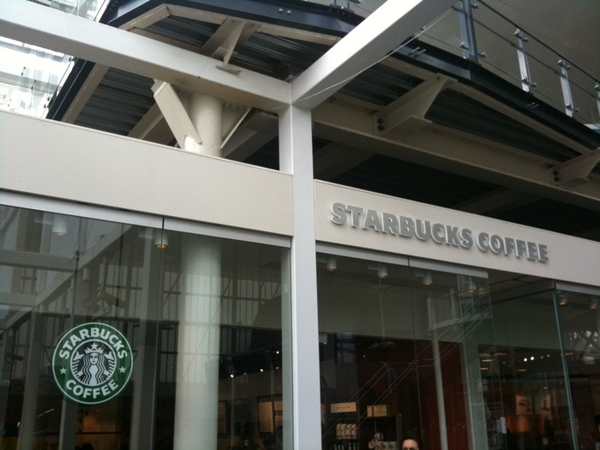 Starbucks @ Leiden CS