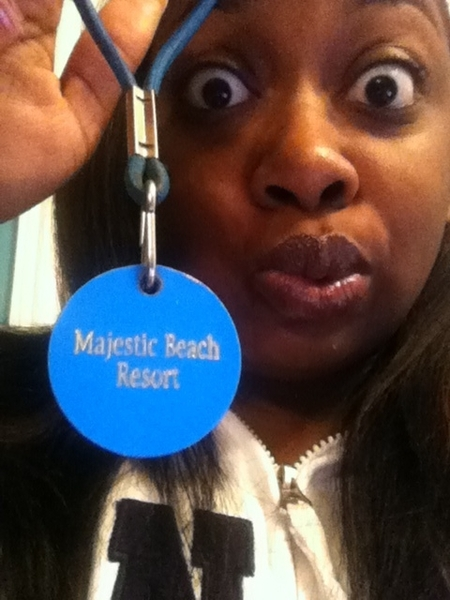 Oops... Kept my pass to the Majestic... My bad...