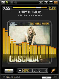Ö winamp en mi N95 (another pict)