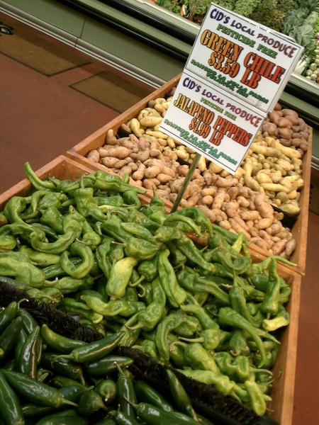 It&#039;s that time of year again! #greenchile #Taos #NM