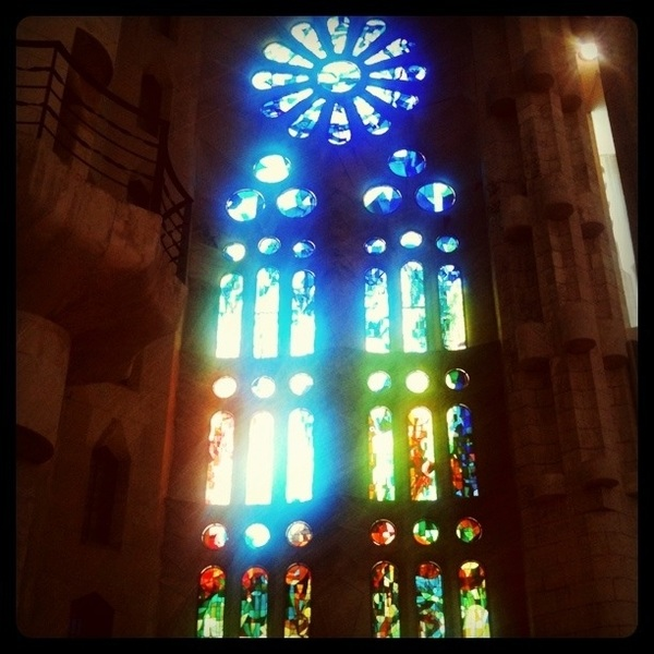 My fourth visit to the Sagrada Familia in 25 years was amazing. The interior is as breathtaking as the facades are #wow