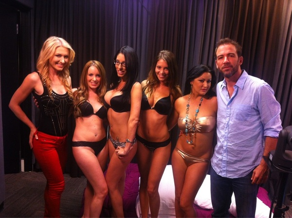 We have a new favorite game. POSITION IMPOSSIBLE is a winner! Thx to @BryanCallen & our sexy models for a great show.