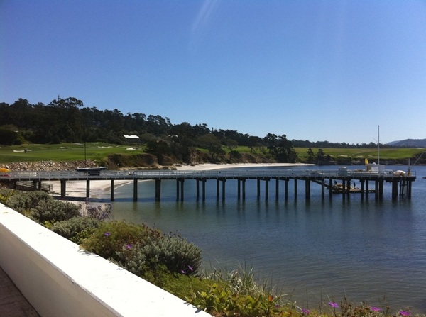 Now heading to the beach. May not come back. #pebblebeach