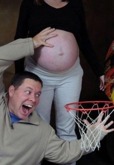 NOT a good father. #Basketball #Babies