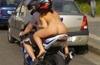Lucky guy. #naked #motorcycle