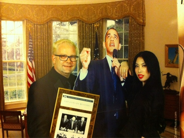 Received my award for 1st place political portfolio at the WHNPA dinner tonight