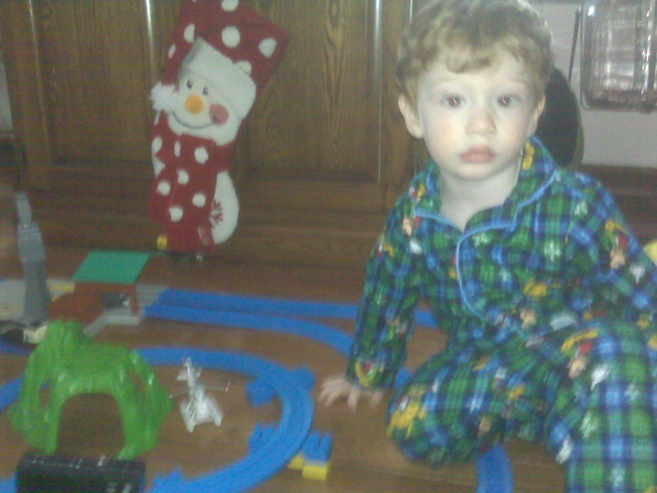 Successful xmas in my household this year. Trains trains trains!