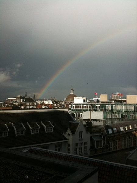 Poging 2: aj zag regenboog (come on mobypica, you can do it!)
