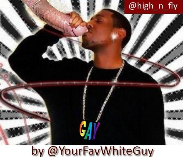 A nigga eat dick