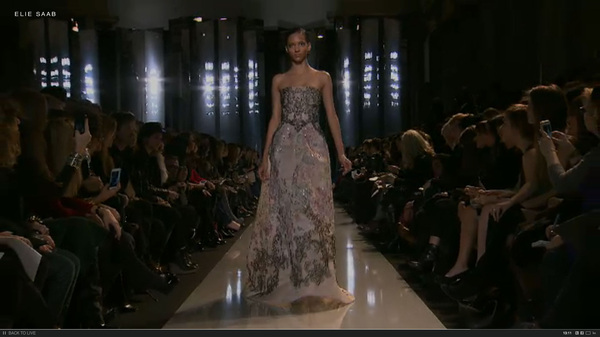 Yet more brillance from Elie Saab