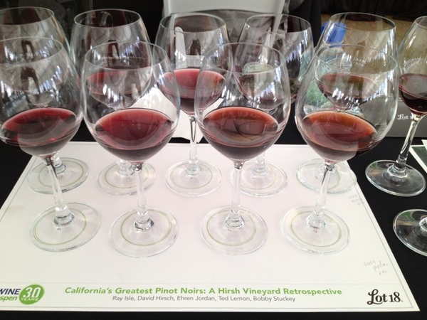 Second reserve tasting: Calif&#039;s Greatest Pinot Noirs!