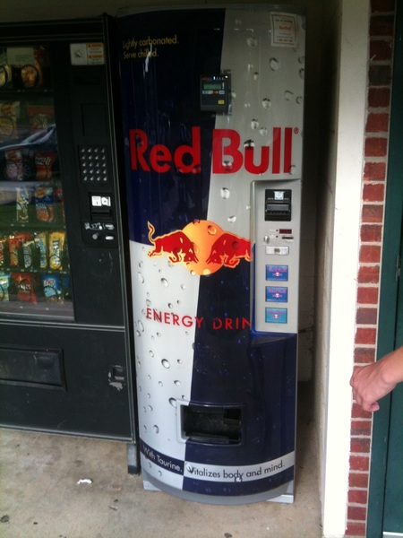 redbull vending machine