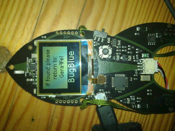 It still works. #Defeest #cccamp11 #geraffel