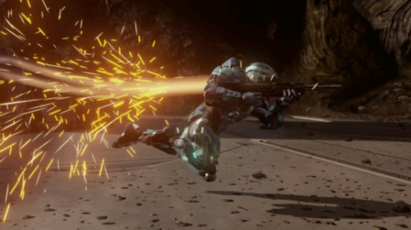 ATTENTION: Your first glimpse of the #Halo4 thruster jetpack! (Makes your eyes have visual orgasms)