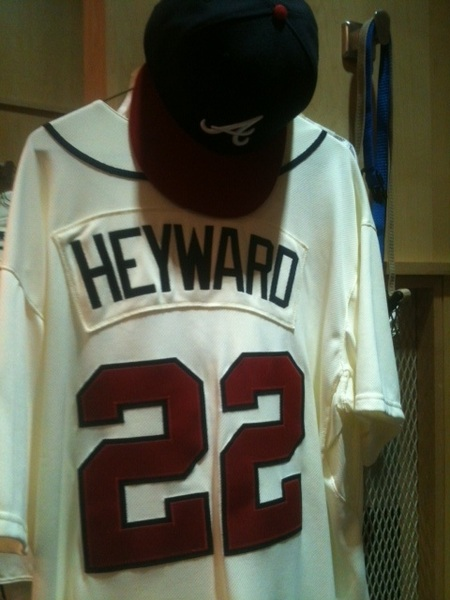 The #Braves will be sporting the renewed throwback uniforms for the 1st time tonight!