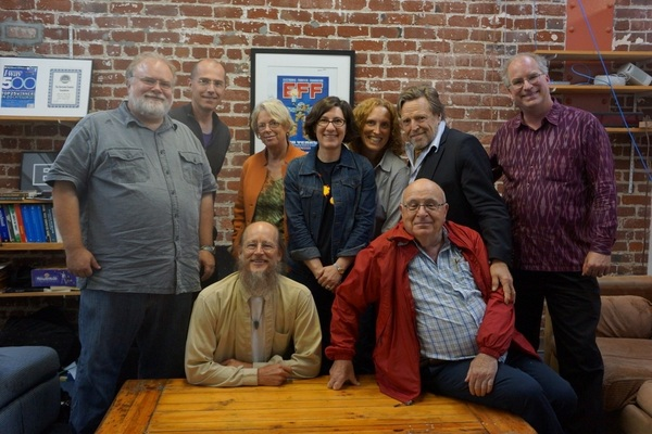 The Electronic Frontier Foundation Board (missing Joe Kraus &amp; Jonathan Zittrain). 