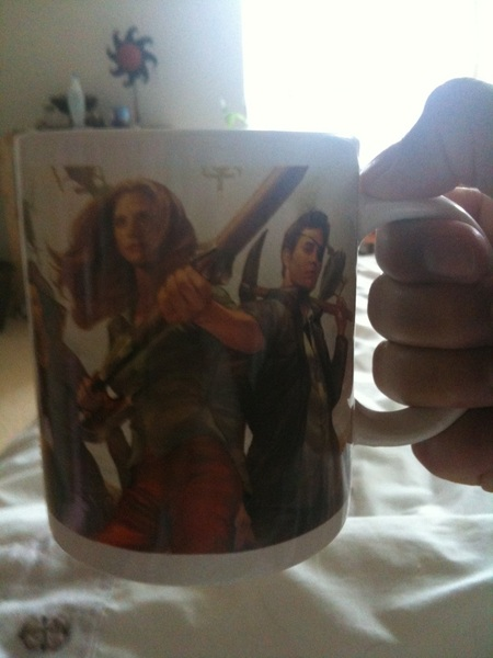 Had to have another #OperationCupOfTea. I think we need #Buffy: she'd sort it out.