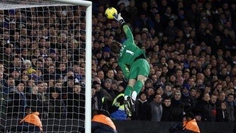 Блестящий сейв Давида де Хеа в конце матча «Челси» — «Манчестер Юнайтед»