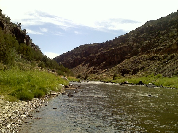 The beautiful #Taos gorge and #RioGrande. #NM