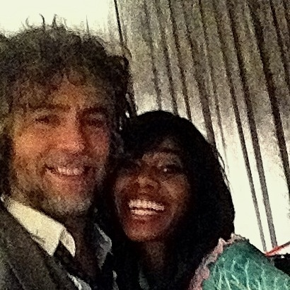 Hangin with @Santigold !!!