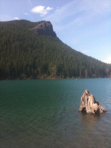 Working on Sanctuary at metalcamp  beautiful up at Rattlesnake lake today