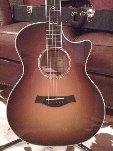 @TaylorGuitars It's all mine! (614ce) Saved up 3 times before placing the order. Totally pleased.:)