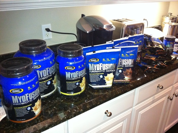 Massive thanks to @jvatwerq and my friends at @TeamGaspari for my 'care' package. Nutrition done for the season!! #fb