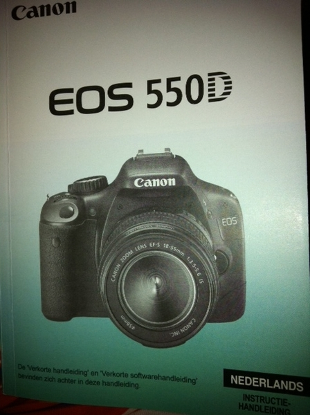 Reading the manual #newcamera