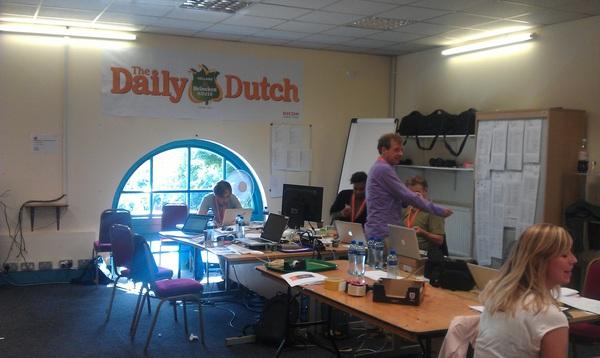 onze redactie is er helemaal klaar voor!!! #HHH2012