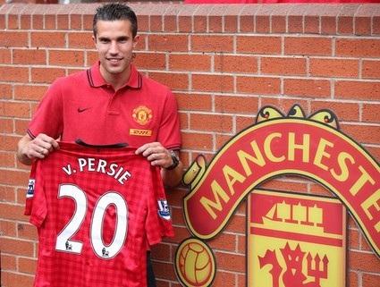 Van Persie zaprezentowany jako zawodnik United
