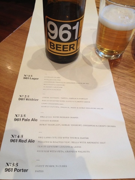 Have any of you tried 961beer? It's amazing and Lebanese-made!