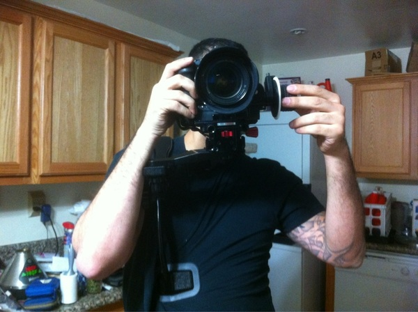 My new camera rig for 5D video!!!